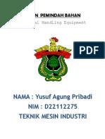 Mesin Pemindah Bahan (Material Handling Equipment)