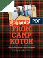 CAMP KOTOK - As Seen in Sarasota Magazine - March2014