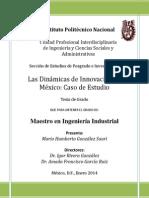 Las Dinámicas de Innovación en México - Un Caso de Estudio -MGS-B110970 - FINAL3