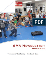 March '14 SMA Newsletter