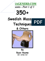 Swedish Massage 1 of 3 Ryan Hoyme