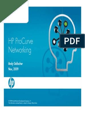 ProCurve Switch Best Practices | Network Switch | Computer