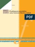 Origen y Evolución del Palimpsesto Grecolatino