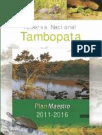 Plan 2011 - 2016 RN Tambopata Ver Pub