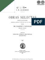 OBRAS SELECTAS - TOMO XI - JUAN BAUTISTA ALBERDI - PORTALGUARANI