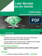 Emerald Treinamento 2010