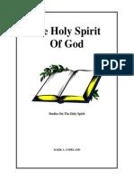 Holy Spirit of God