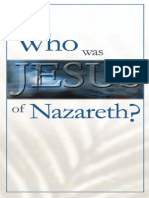 Who Was Jesus of Nazareth