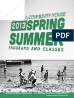 WCH Spring/Summer Program Guide 2013