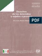 Adato Green. Victoria, Derechos de Los Detenidos y Sujetos a Proceso. Unam, 2000