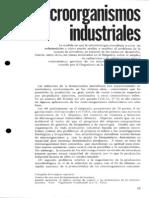 Microorganismos de Uso Industrial