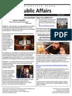 SF Stake Public Affairs February 2014 Newsletter