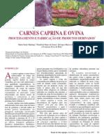 Processamento e Fab. Carne Caprina e Ovina