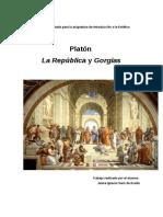 Platon Estetica Trabajo
