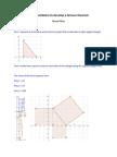 mun hyunji investigating right-angled triangles with geogebra