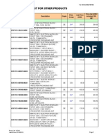 As Other Products Price List Y1314-From 102013