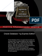 Oracle Database 11g Express Edition