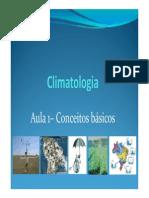 1 - Climatologia - Tempo e Clima [Modo de Compatibilidade]