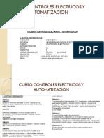 Curso Controles Electricos y Automatizacion Semana8-1