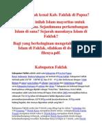 Sejarah Islam Di Fakfak