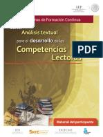 Curso Análisis textual para el desarrollo de las competencias lectoras