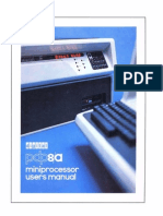 EK-8A002-MM-002 PDP-8A Miniprocessor Users Manual Dec76
