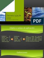 Presentación Decreto 1575 de 2007 y Resolución 2115 de 2007.