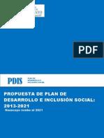 Propuesta de Plan de Desarrollo e Inclusion Social para la Provincia de Huancayo