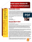 Combat Logistics Battalion 451 Quarterly Newsletter - Winter FY14