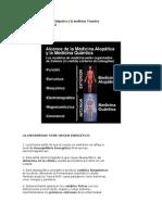 Alcance de La Medicina Alopatica y La Medicina Cuantica