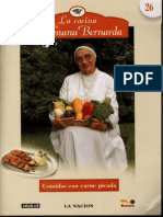 Comidas Con Carne Picada- Hermana Bernarda