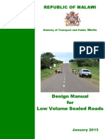 Design Manual LVSRs Malawi(2013)