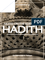 Notes Hadeeth
