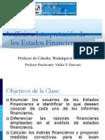 Analisis e Interpretacion de Los Estados Financieros-Clase 3
