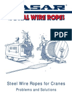Casar Steel Wire Ropes Letter