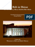 The Báb in Shiraz