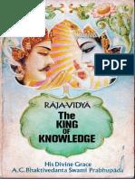 Raja-Vidya the King of Knowledge-Original 1973 Book SCAN