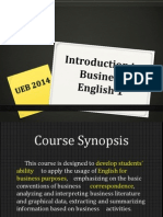 Introduction to Business English