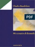 Charles Baudelaire Mi corazón al desnudo