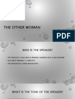 The Other Woman PDF - Analogy