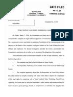 Pat Frank Clerk Ethics Complaint-Jan-30-2014