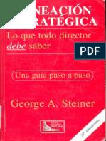 Steiner G. 2010 Planeacion Estrategica