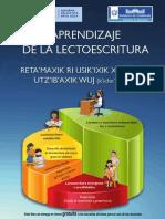 AprendizajeLectura Libro carátula azul