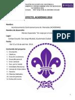 Proyecto de ACADEMAS 2014 Para Presidentes (1)