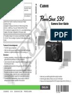 PowerShot S90 Manual
