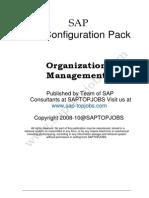 HR-Organizational Management Configuration