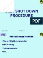 Unit Shut Down Procedure