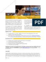 SAP PhD Scholar Brochure