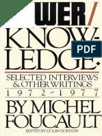 33534668 Foucault Power Knowledge