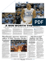 The Daily Tar Heel for Feb. 21, 2014